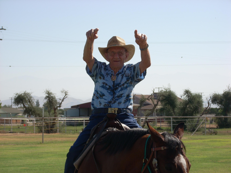 grandpa horse